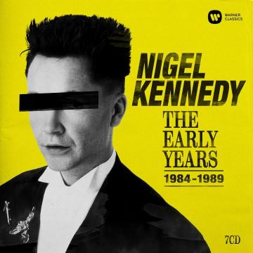 甘乃迪1984-1989年早期錄音集  7CD/甘乃迪〈小提琴〉