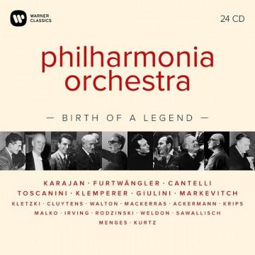 愛樂管弦樂團75週年紀念:一個傳奇的誕生 24CD/愛樂管弦樂團