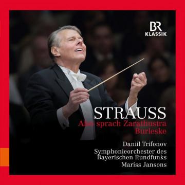 理查‧史特勞斯:查拉圖斯特拉如是說、戲謔曲/楊頌斯指揮巴伐利亞廣播交響樂團