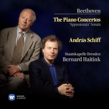 經典再現 ─ 貝多芬:鋼琴協奏曲全集  3CD/席夫〈鋼琴〉海汀克〈指揮〉德勒斯登國家管弦