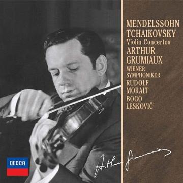 孟德爾頌:小提琴協奏曲,E小調OP.64 柴可夫斯基:小提琴協奏曲,D大調OP.35 ◎單聲道錄音