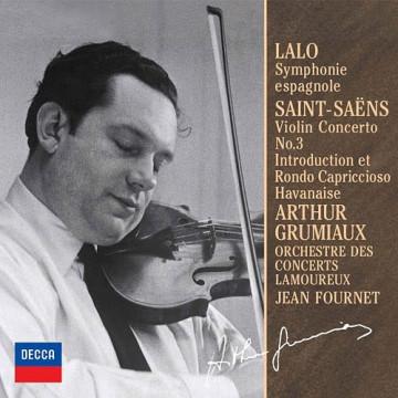 拉羅:西班牙交響曲,D小調OP.21 聖桑:小提琴協奏曲 ◎單聲道錄音