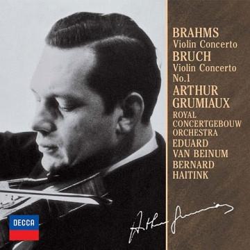 布拉姆斯:小提琴協奏曲,D大調OP.77 布魯赫:小提琴協奏曲,第1號,OP.26