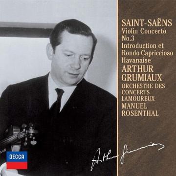 聖桑:小提琴協奏曲,B小調OP.61 序奏與隨想輪旋曲、哈瓦奈斯舞曲