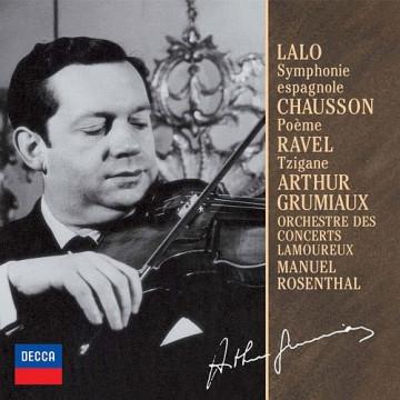 拉羅:西班牙交響曲,D小調OP.21 蕭頌:詩曲,OP.25 拉威爾:吉普賽舞曲