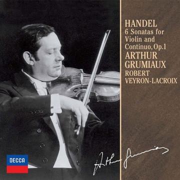 韓德爾: 小提琴奏鳴曲,第1-6號