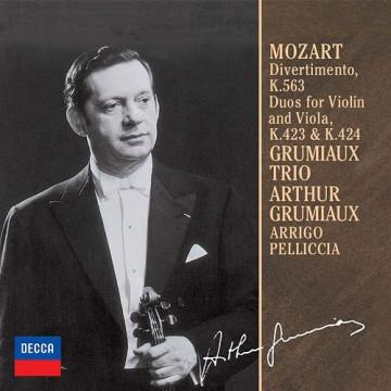 莫札特:嬉遊曲K.563 小提琴與中提琴二重K.423&424