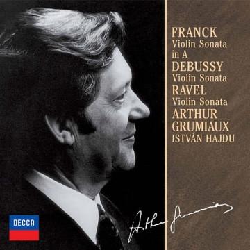 法朗克:小提琴奏鳴曲,A大調 德布西:小提琴奏鳴曲,G小調 拉威爾:小提琴奏鳴曲,G大調
