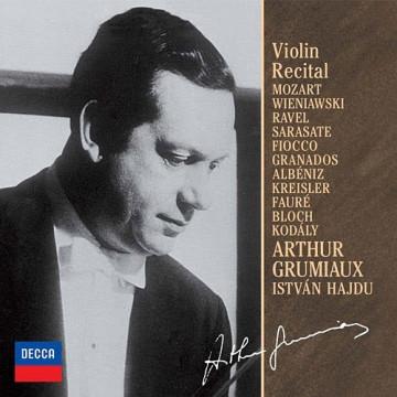 羅米歐-小提琴獨奏會 第1集 收錄:莫札特、維尼奧夫斯基、拉威爾、薩拉沙泰、葛拉納多斯
