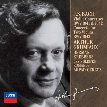 巴哈: 小提琴協奏曲,第1&2號BWV1041&1042 雙小提琴協奏曲BWV1043