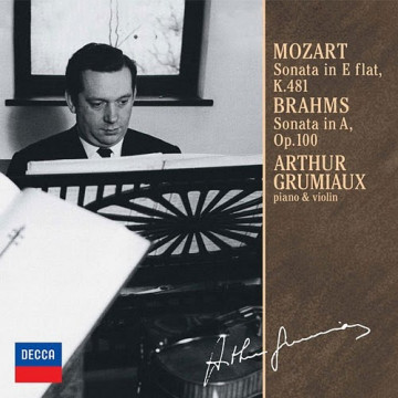 莫札特:小提琴奏鳴曲,降E大調K.481 布拉姆斯:小提琴奏鳴曲,A大調OP.100