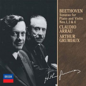 貝多芬: 小提琴奏鳴曲,第1、2、4號
