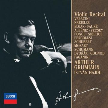 葛羅米歐-小提琴獨奏會 第3集 收錄:維拉契尼、克萊斯勒、艾爾加、佛瑞、阿爾班尼士、龐賽