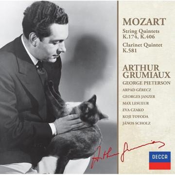 莫札特:弦樂五重奏,第一集 K174、K406、單簧管五重奏K581