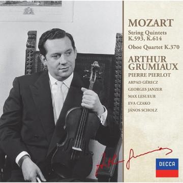 莫札特:弦樂五重奏,第二集 K593、K614、雙簧管四重奏K370