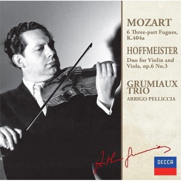 莫札特:六首3聲部賦格曲K.404a 霍夫麥斯特:為小提琴與中提琴而作的二重奏,G大調