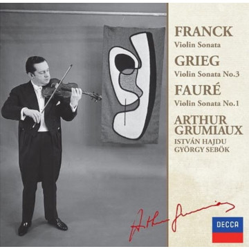 法朗克:小提琴奏鳴曲,A大調 葛利格:小提琴奏鳴曲,第3號 佛瑞:小提琴奏鳴曲,第1號