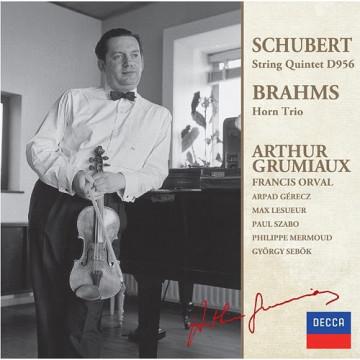 舒伯特:弦樂五重奏,C大調D956 布拉姆斯:法國號三重奏,降E大調OP.40