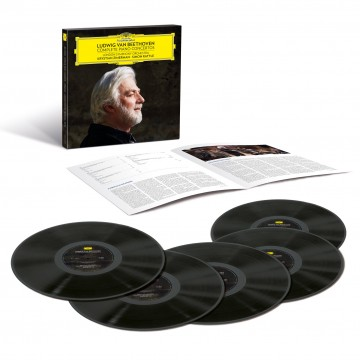 (DG)貝多芬:鋼琴協奏曲全集 5LP /齊瑪曼、拉圖指揮倫敦交響樂團