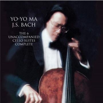 【馬友友經典錄音系列】巴哈:大提琴無伴奏組曲全套 2CD