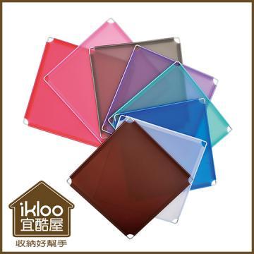 【ikloo】12吋收納櫃延伸配件-雙格用長衣桿(61cm)