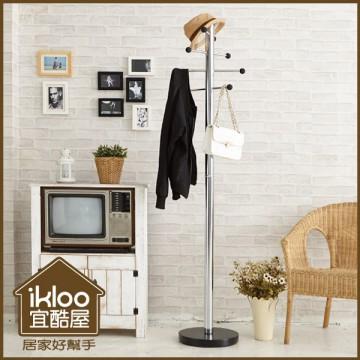 【ikloo】工業風重型衣帽架