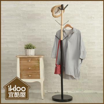 【ikloo】簡約美學衣帽架