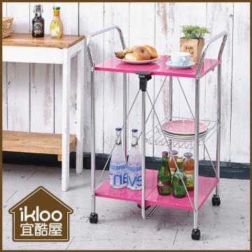 【ikloo】樂桃桃折疊餐車