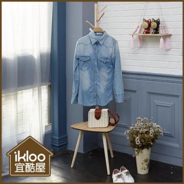 【ikloo】創意多功能衣帽架/掛衣桿