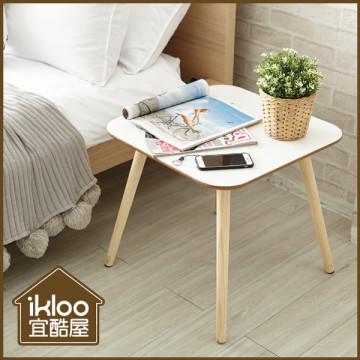 ◆買1送1◆【ikloo】簡約方圓邊桌/茶几桌