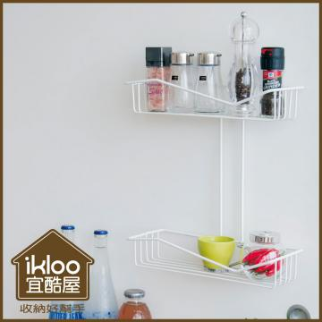 【ikloo】貴族風可延伸式組合書櫃/書架2入