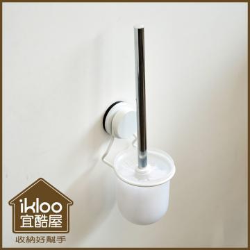 【ikloo】工業風上木板雙層收納置物籃/推車