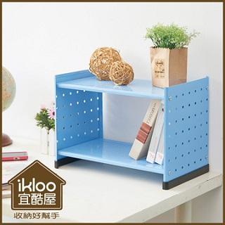【ikloo】現代風單門收納櫃/置物櫃(超值兩入)