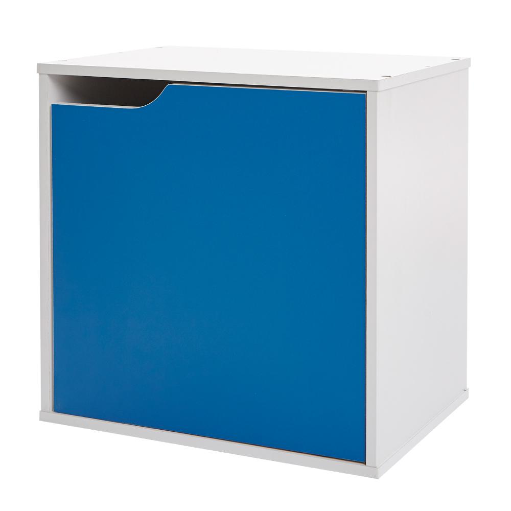 【ikloo】現代風單門收納櫃/置物櫃