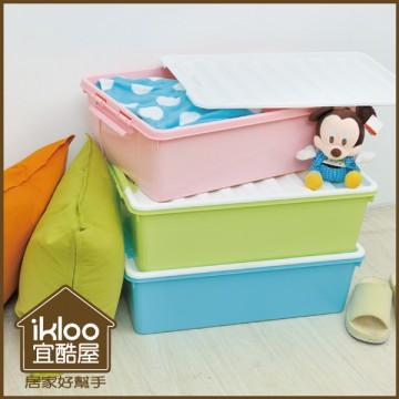 【ikloo】可移式五層收納抽屜車/收納箱