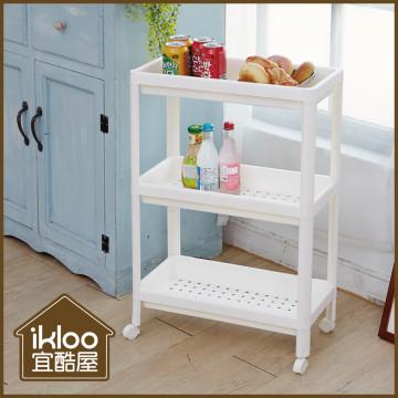【ikloo】日系三層細縫收納車