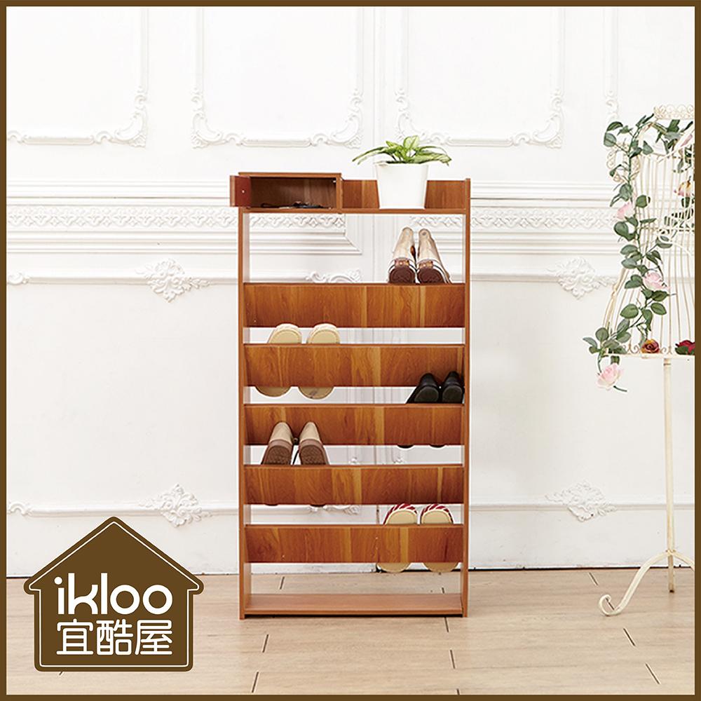 【ikloo】日式居家多層收納鞋櫃