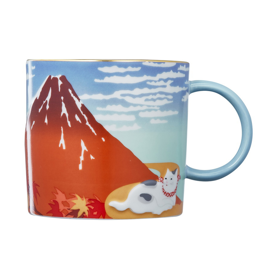 Fine Wind, Quiet Clouds/ mug