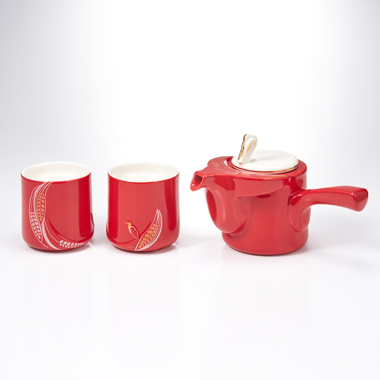 Bountiful Harvest /Teapot & Cup