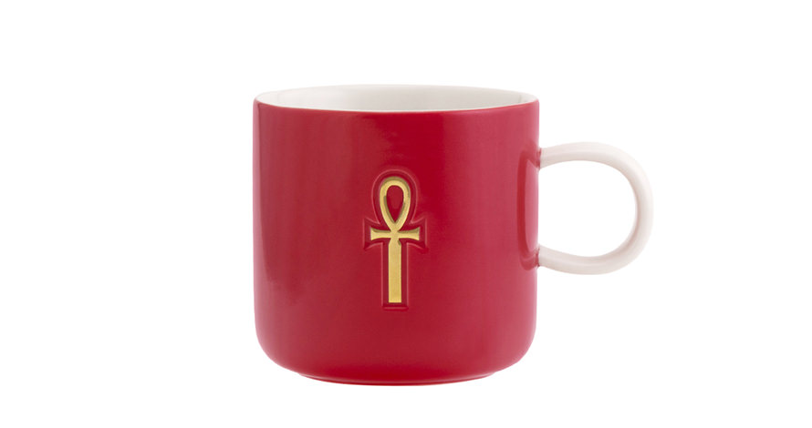 The Golden Key(Red) /Mug