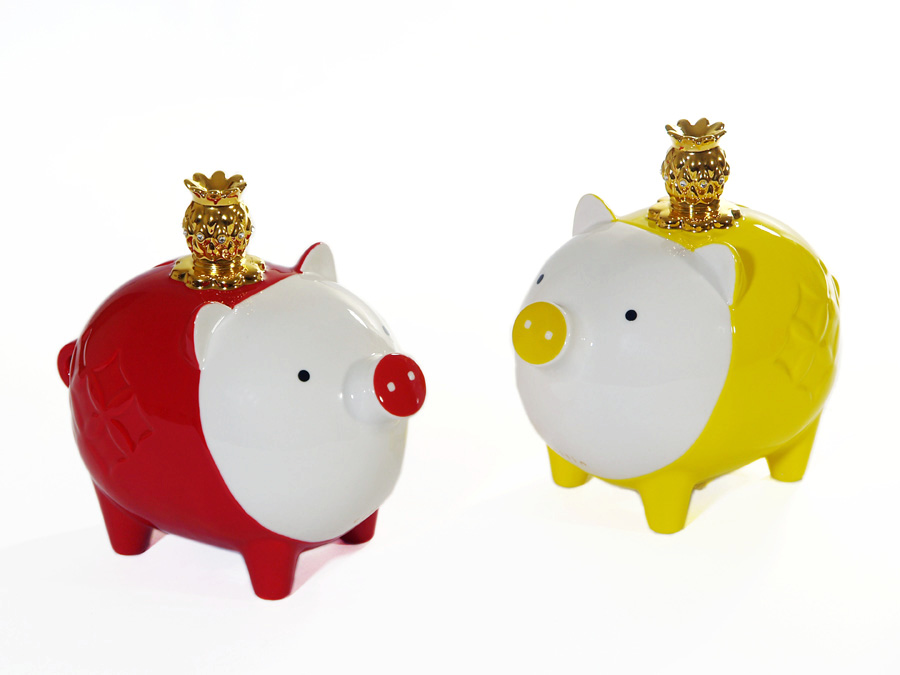 Princely Piggy /coin bank