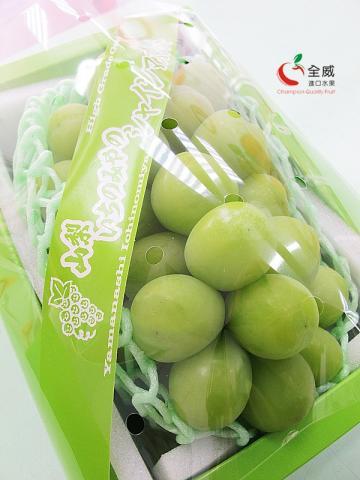 日本山梨匠之香印葡萄(1房/原裝品) 日本葡萄帝王,超高甜度無法自拔的清新夢幻風味