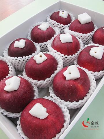 日本青森L號大紅榮蘋果(12入/箱)