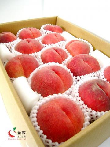 日本山梨水蜜桃XXL號(13入/箱),甜度最高【大糖嶺】特秀水蜜桃