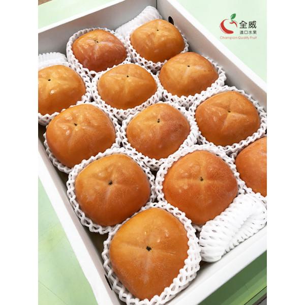 日本和歌山黑甘柿(8~13入/箱),甜度最高的稀有日本柿