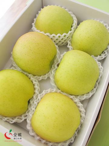 日本青森黃王蘋果(6入/盒)