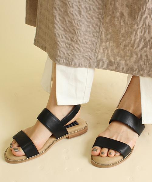 超柔軟舒適棉花糖平底涼鞋/CS9053