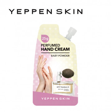 韓國【YEPPEN SKIN】芳香護手霜-嬰兒爽身粉-C003-25g