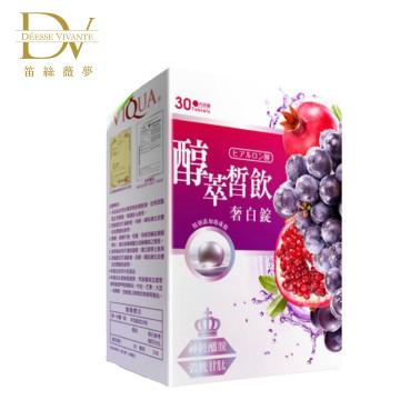 DV醇萃皙飲奢白錠-30顆入