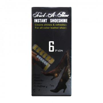 【立即亮】海棉鞋油擦6段可拋式